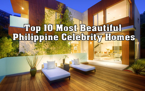 Top 10 most beautiful philippine celebrity homes for Top ten home builders